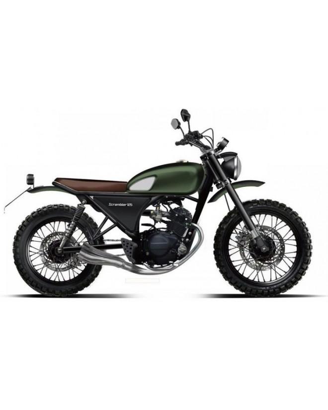 moto QG Scrambler 125 cm³