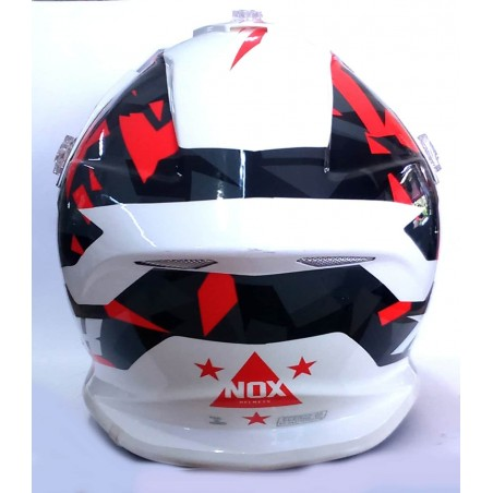 Casque Nox Adulte Rouge