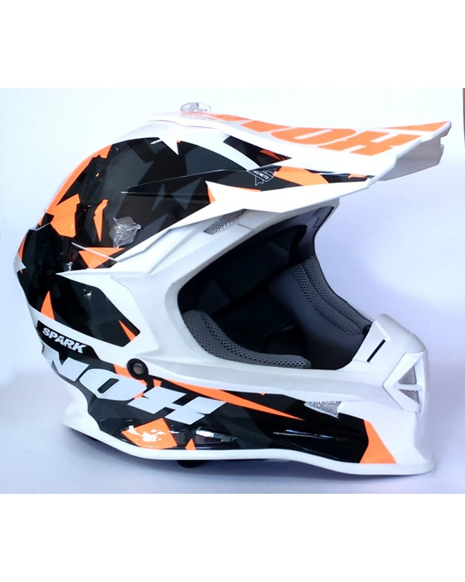 Casque Nox Spark Adulte Orange