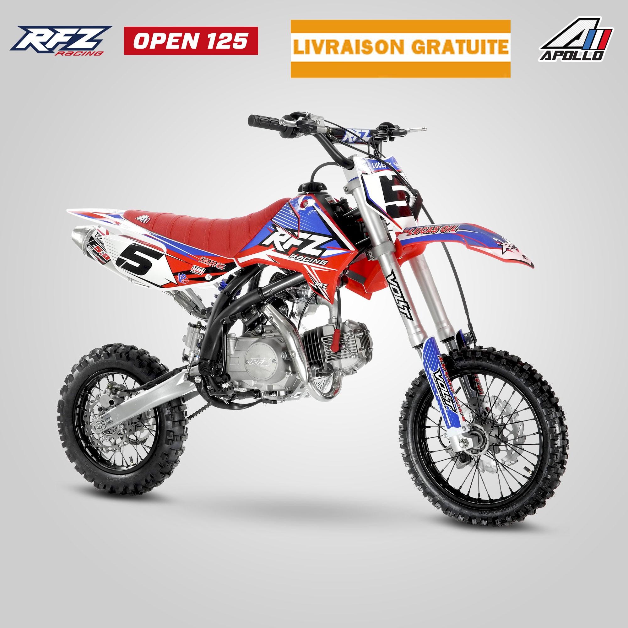 Dirt Bike Apollo Rfz Open 125cc Le Dirt Pour Les Inities