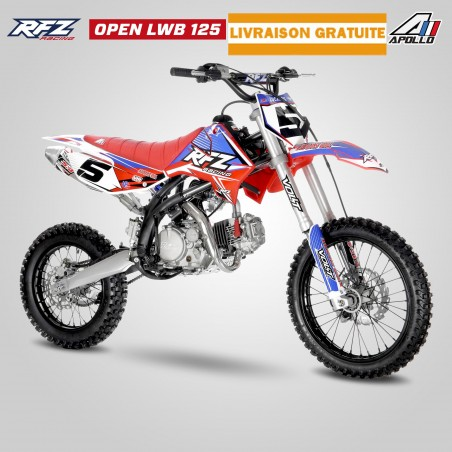 Dirt Bike Apollo RFZ LWB Open 125cc
