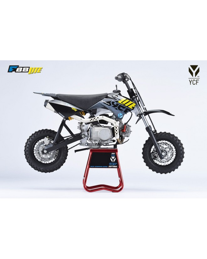 superbe dirt bike ycf lite f88s pour votre petit pilote. Black Bedroom Furniture Sets. Home Design Ideas