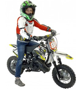 Moto cross enfant 50cc 10/10