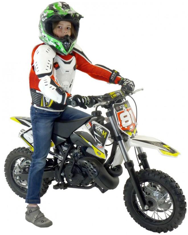 Moto cross enfant 50cc 10/10