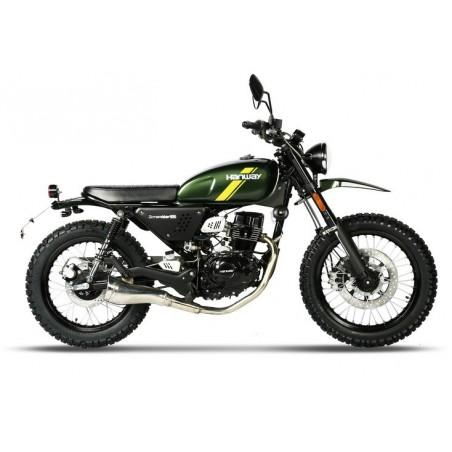 moto masai Scrambler 125 cm³
