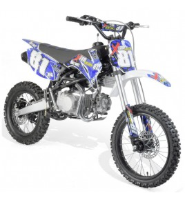Dirt bike 140cc 4T 17/14 fourche inversée
