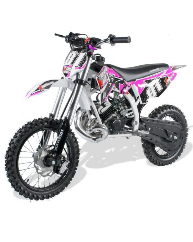 Moto Cross Enfant 50cc 2T 9.5cv 14/12 Racing