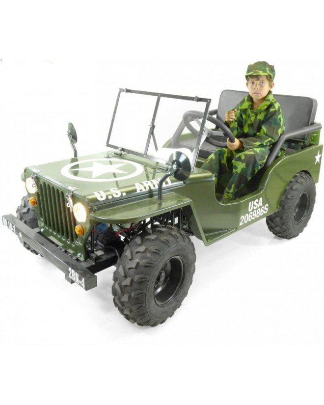 Jeep 150cc enfant semi-automatique