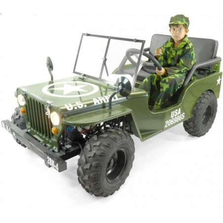 Jeep 150cc enfant semi-automatique