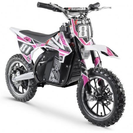 Pocket bike électrique 500W enfant - black édition