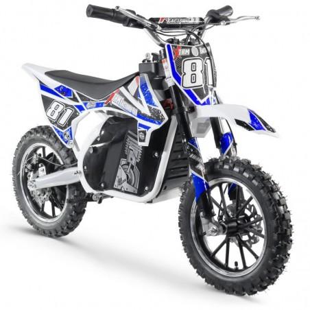 Moto Cross Electrique 500W Enfant-White Edition