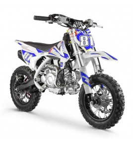 Moto Cross Enfant MX60 Automatique White édition