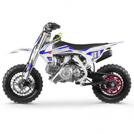 Moto Cross Enfant MX60 Automatique White édition