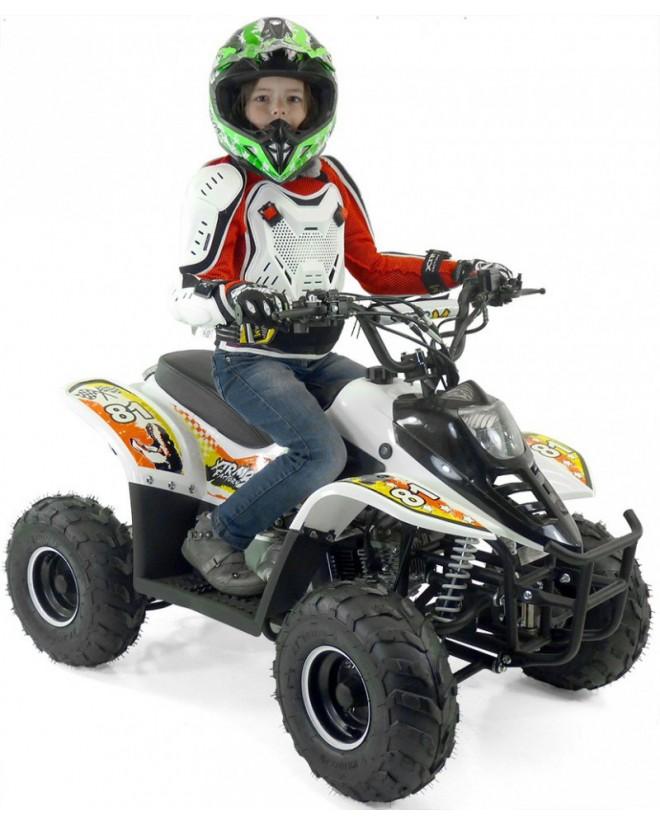 Quad Enfant Electrique 500W Bibou LUXE WHITE