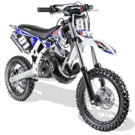MOTO CROSS enfant 2T 50cc 12/14