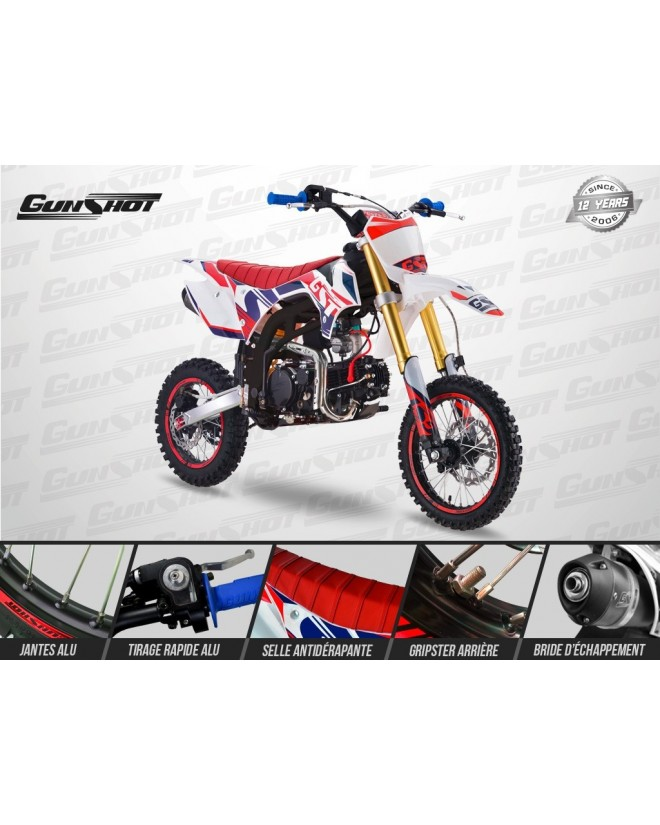 Dirt Bike Gunshot 150 Pro1 14/12