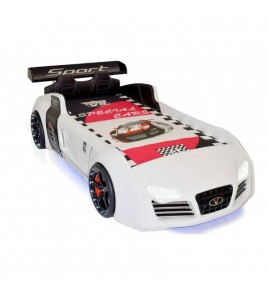 Lit voiture enfant V8 Leds