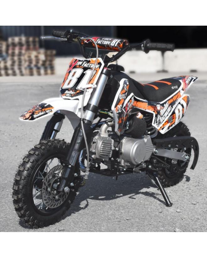 Dirt Bike 90cc Racing Semi-auto