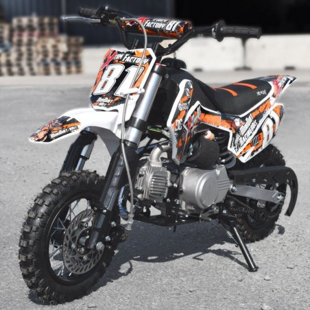 Dirt Bike 90cc Racing Semi-auto