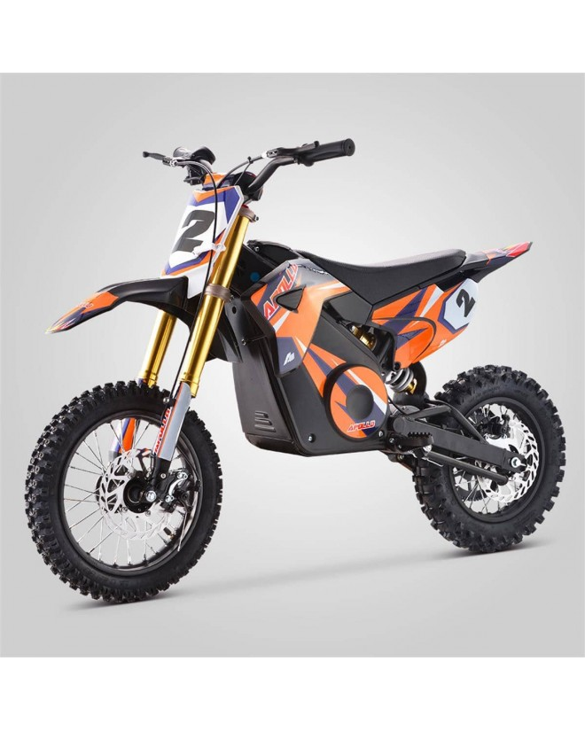 Dirt bike enfant électrique apollo rfz rocket 1000w