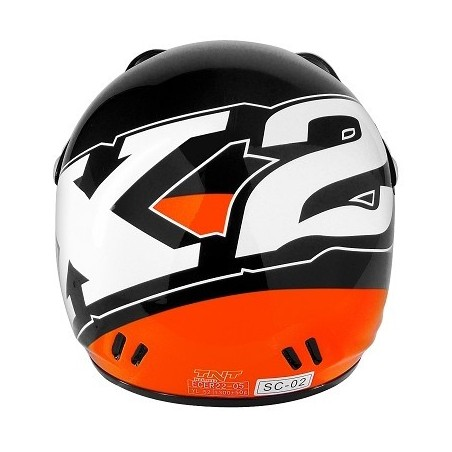 CASQUE ENFANT K2 ORANGE