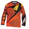 maillot cross enfant 7 - 10 ans orange