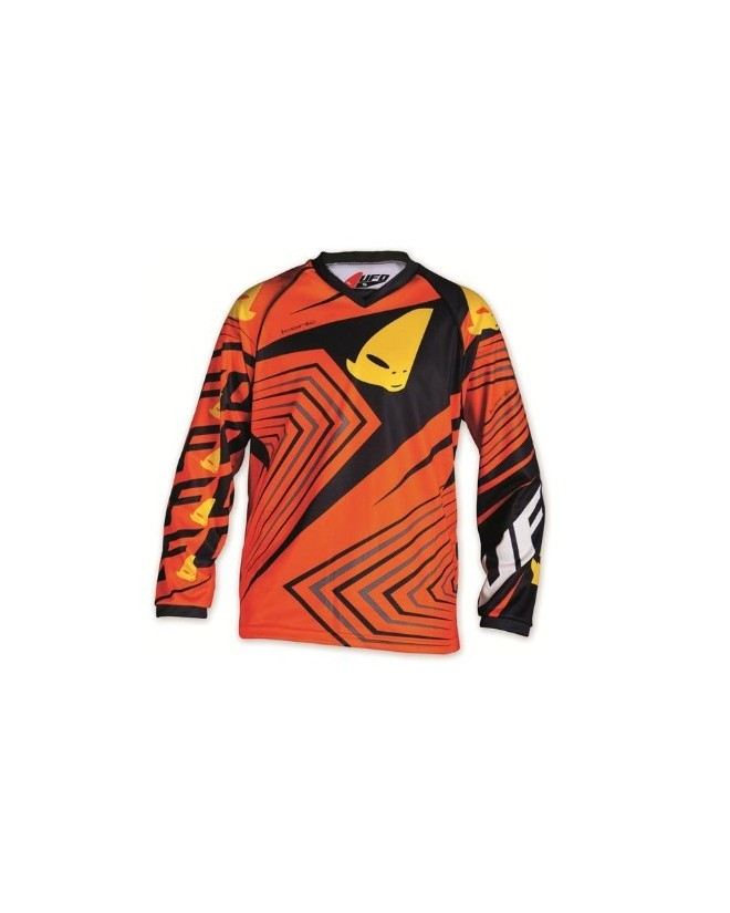 Maillot cross enfant 10 - 13 ans orange