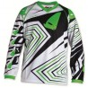 maillot cross enfant 10 - 13 ans vert
