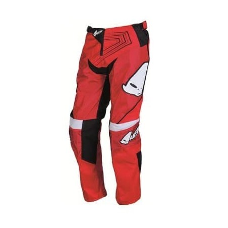 Pantalon cross enfant 10 - 11 ans rouge
