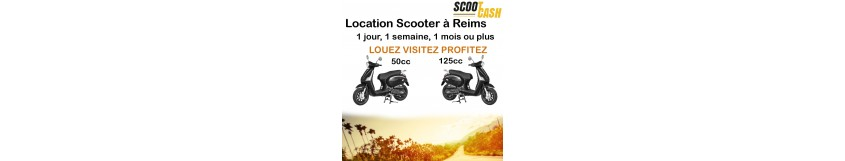 Location Scooter à Reims